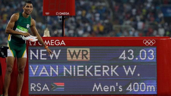 van Niekerk apunta a bajar la marca de los 43 segundos en pruebas de 400 m.