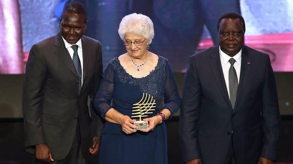 Ans recibió la distinción en la gala organizada el pasado 24 de noviembre.