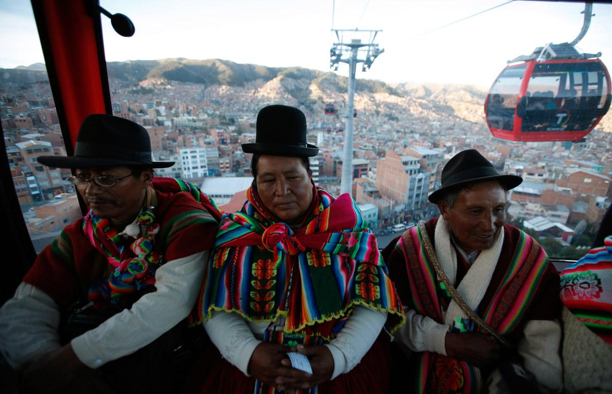 teleferico-la-paz-mas-alto. El teleférico de La Paz es el más extenso del mundo