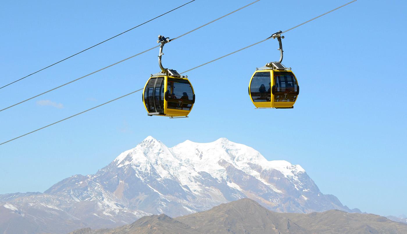 "teleferico-la-paz. El teleférico de La Paz es un ""Guinness World Records 2018"""