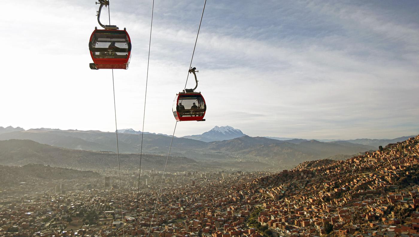 teleferico-mas-alto-del-mundo-bolivia. También es el teleférico urbano más alto del mundo
