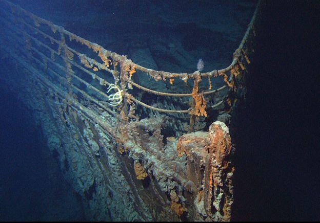 Restos del Titanic