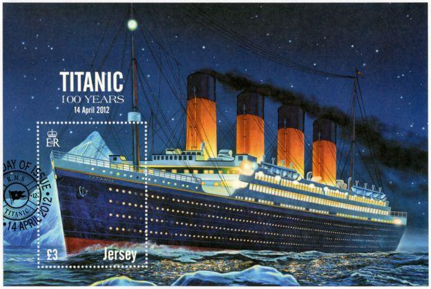 Estampilla del Titanic