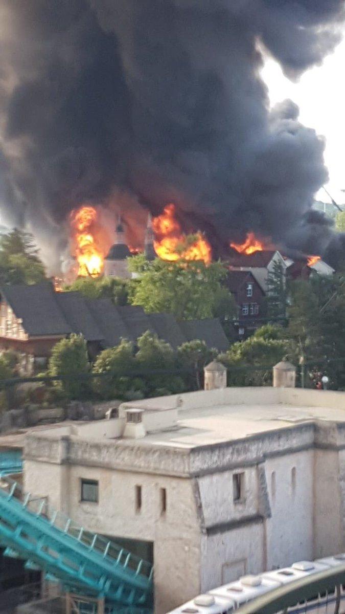 Resultado de imagen para incendio alemania parque