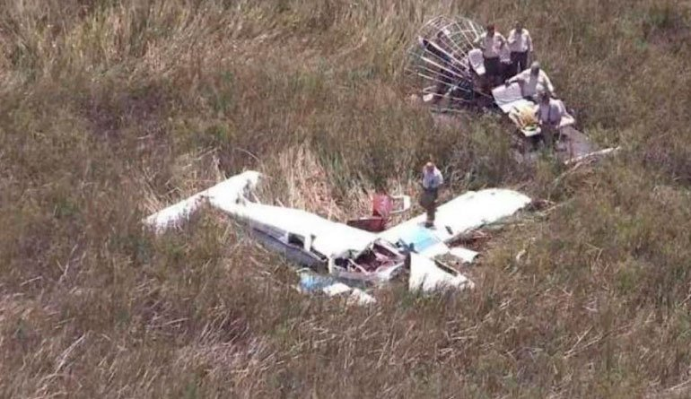 3 muertos tras colisión de 2 avionetas en Florida