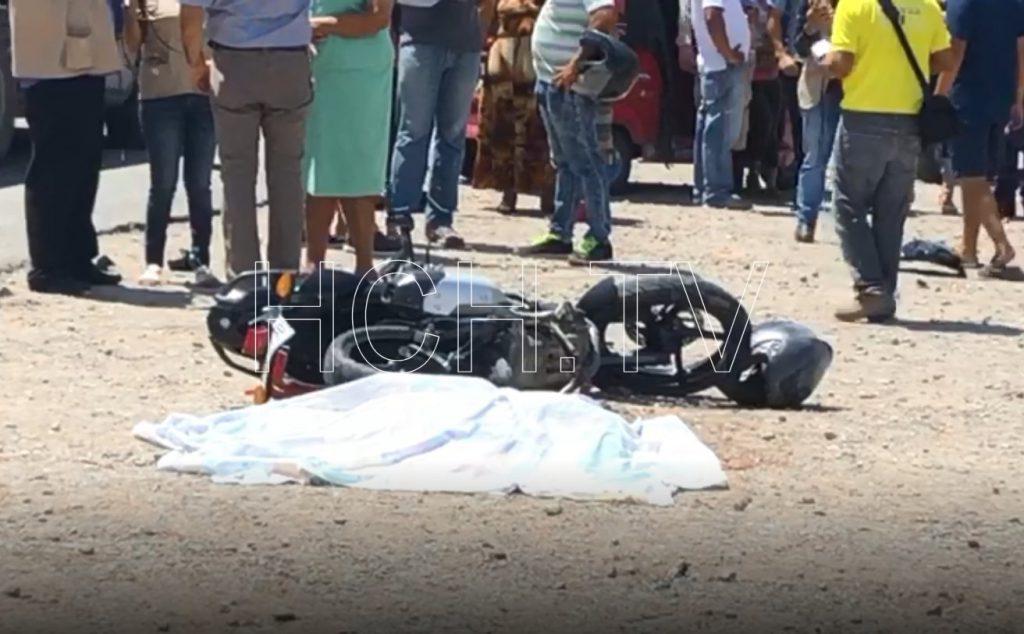 Niña de 9 años murió en accidente de moto en El Progreso