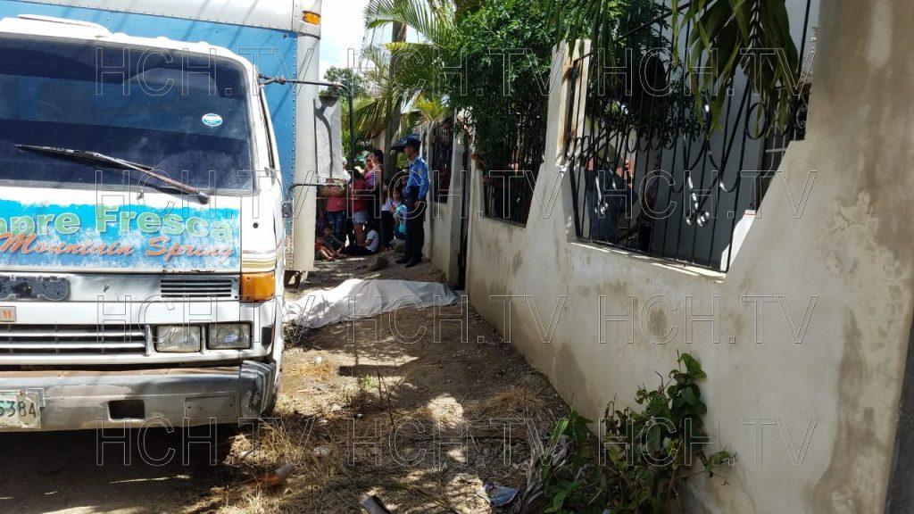 ¡ A Disparos ! asesinan a repartidor de agua en San Pedro, Copán