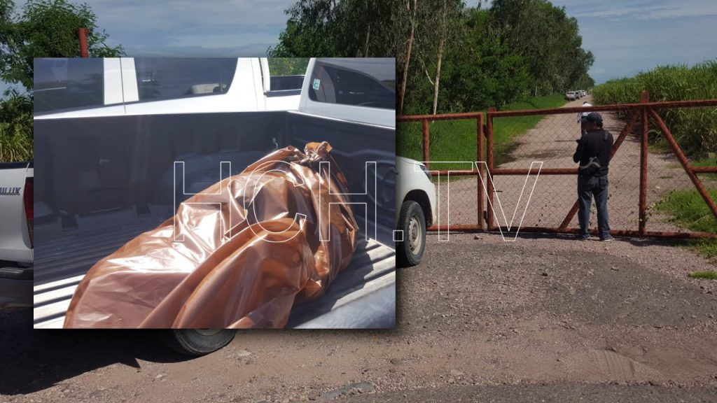 Hallan muerto a ingeniero en cañera de Marcovia, Choluteca