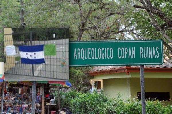 ¡ Se toman Parque Arqueológico en Copán ! por disputa de la Dirección del Consejo Indígena