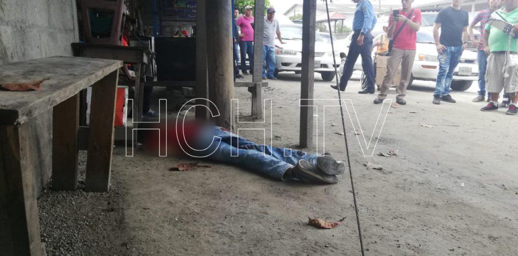Asesinan a taxista en punto de aldea La Jutosa, Choloma