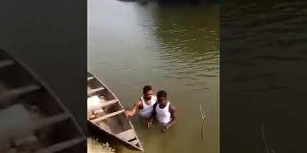 Joven murió ahogado mientras era bautizado en un río
