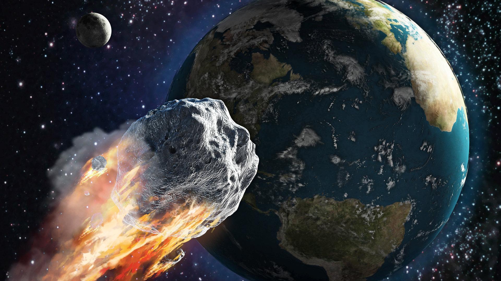 En una misión la NASA desviará un asteroide gigante — HISTORICO
