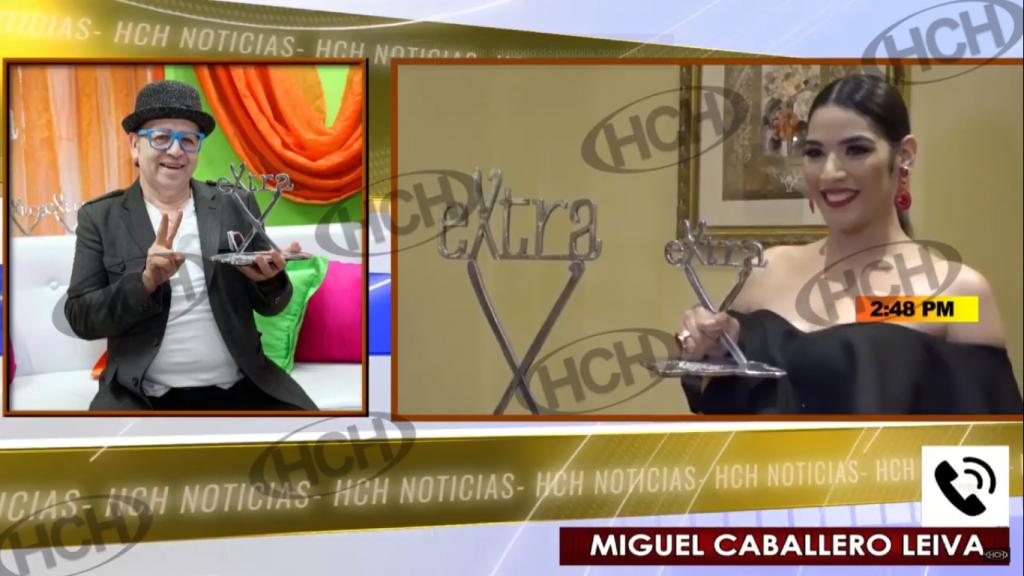 Caballero Leiva habla en HCH tras la entrega de los #PremiosExtra2019
