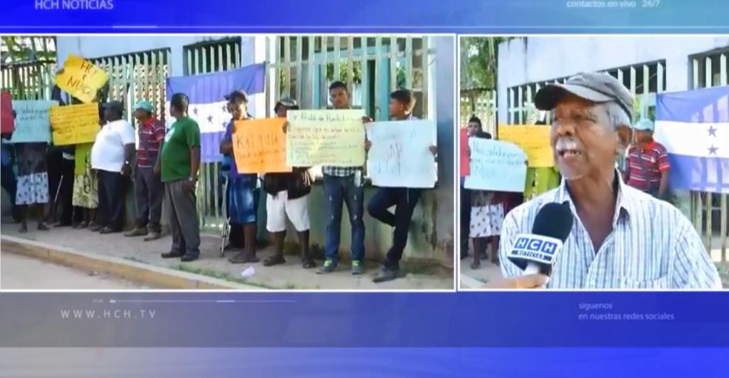 Misquitos se toman alcaldía de Puerto Lempira con varias exigencias