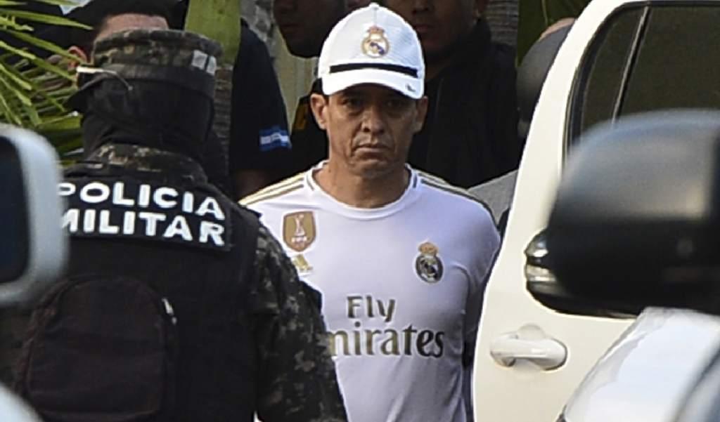 Detienen al jefe de la Policía Nacional de Honduras por lavado