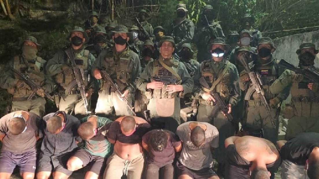 Venezuela anuncia captura de otros ocho mercenarios en el estado La Guaira