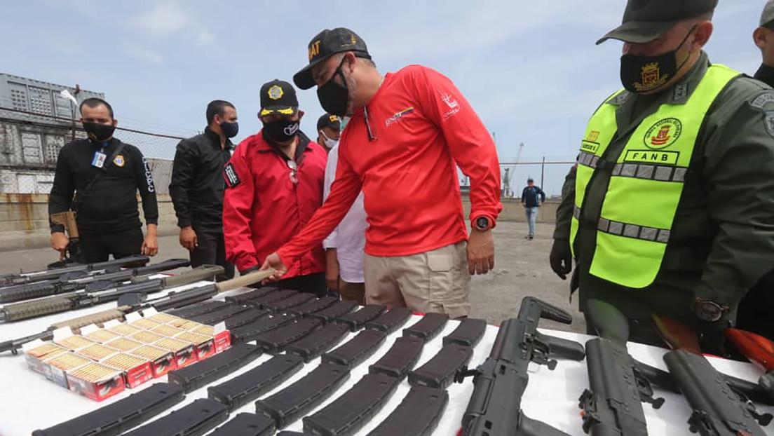Incautan en Puerto Cabello material bélico proveniente de EEUU